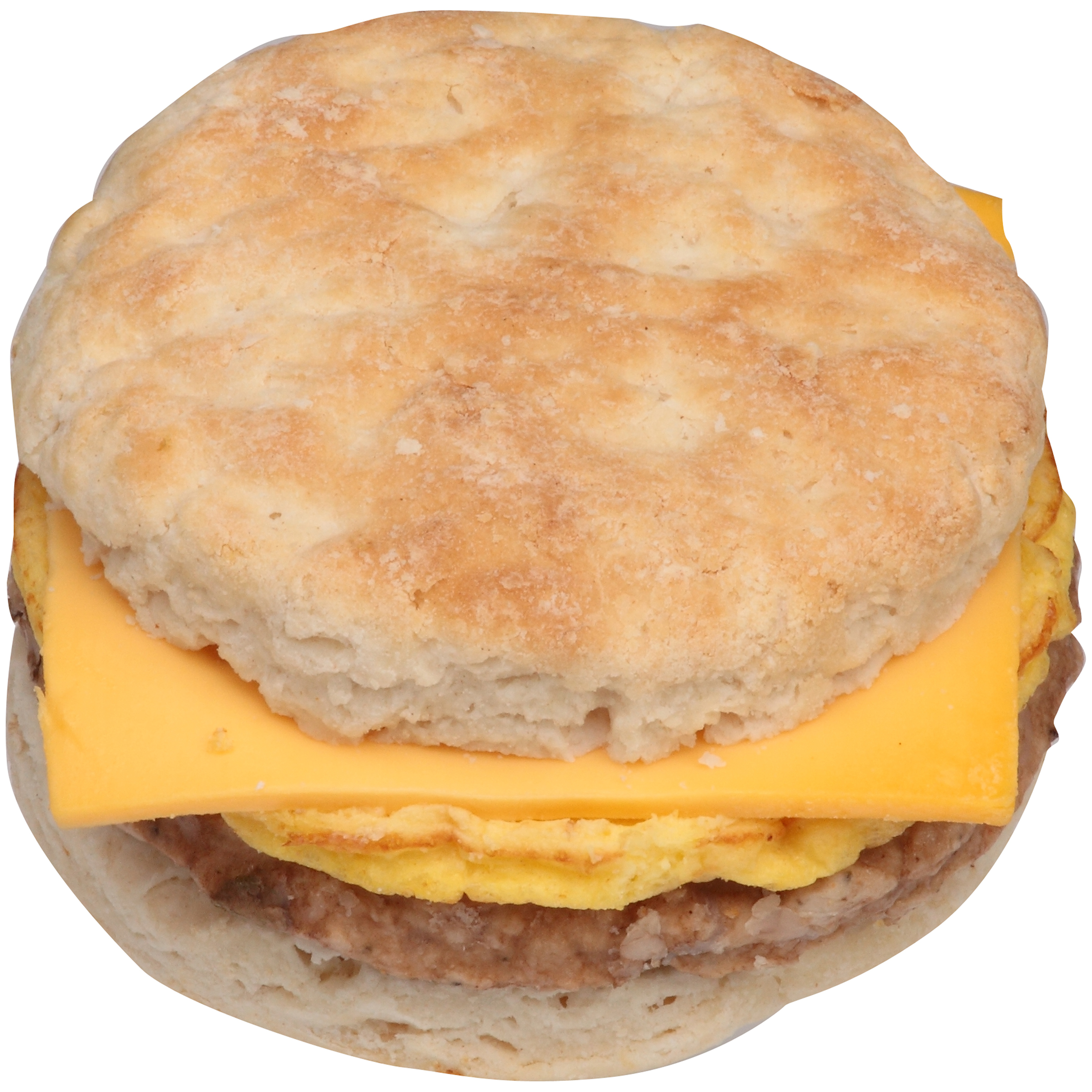 Jimmy Dean Jumbo Sausage/Egg/Cheese Biscuit Sandwich, 4.9 oz., 12 per case