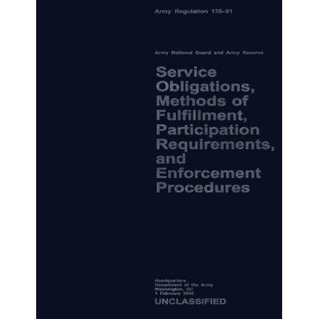 Service Obligations  Methods Of Fulfillment  Participation Requirements  And Procedures