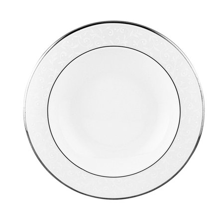 Lenox Marchesa Empire Pearl (Opal Innocence Platinum Banded Bone China Dinner Plate, Carved Settting Set Federal Cake for Dune Inch Opal 1034inch Knife Marchesa diameter Platinum Innocence.., By Lenox Ship from US )