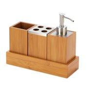 Zingz & Thingz 4 Piece Bath Organizer Set