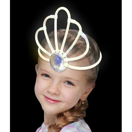 Glow Crown- White - White Glow Bracelets