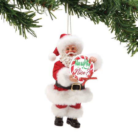Possible Dreams Santa Naughty or Nice Christmas Ornament #6002146](Naughty Or Nice Party)