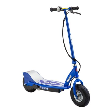 Razor E300 Electric 24 Volt Rechargeable Motorized Ride On Kids Scooter  Blue