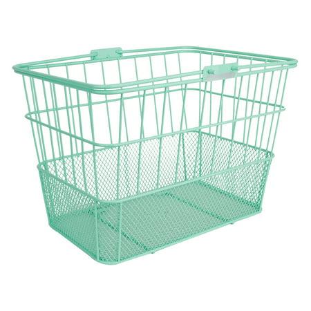 Sunlite Basket Front Wire/Mesh L/O Standard Green W/B