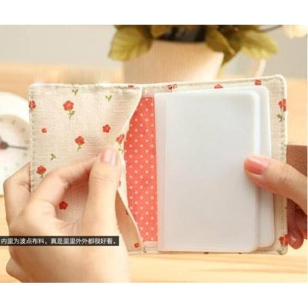 Floral Women Credit ID Card Clutch Bag Wallet Purse Holder Pouch Coin Bag Pocket - image 5 de 5