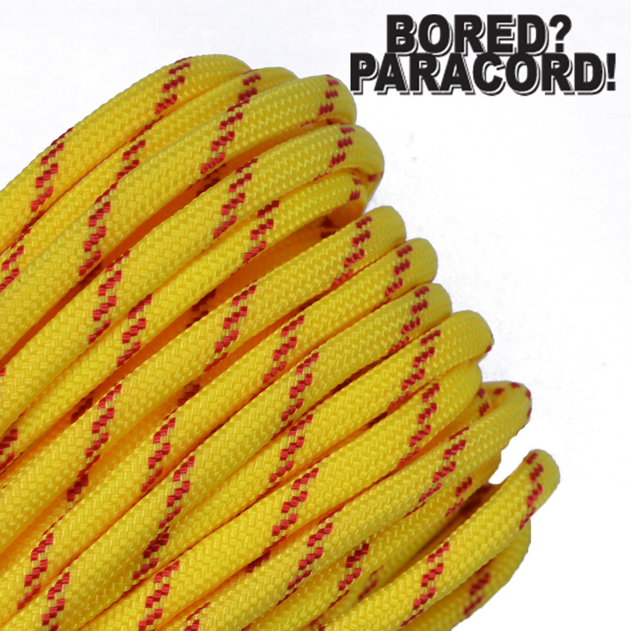 Over 250 Colors 100 ft BoredParacord Brand 550 lb Paracord