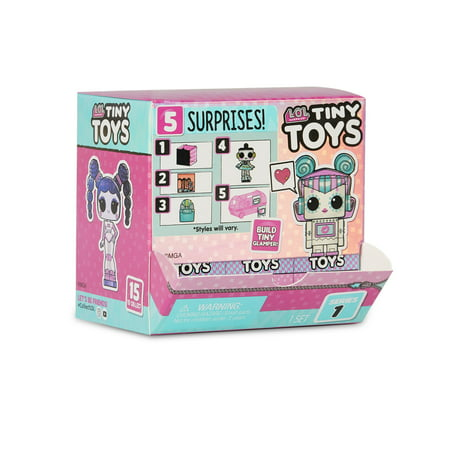 L.O.L. Surprise Tiny Toys - Collect to Build a Tiny Glamper