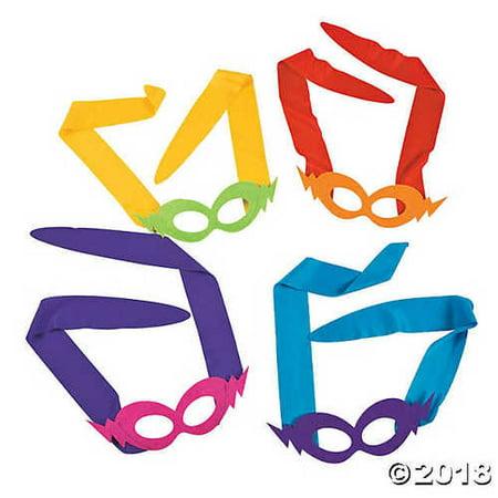 Otc Bolts - Tie-On Lightning Bolt Masks