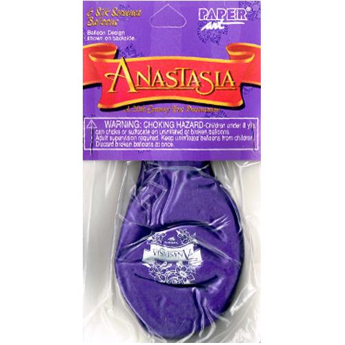 Anastasia Vintage 1997 Latex Balloons (6ct)