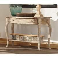 Alaterre Rustic Reclaimed Mediaconsole Table Driftwood