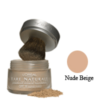 Loreal Bare Naturale Powdered Mineral Foundation Spf 19, Nude Beige  - 0.35 Oz  , 2 Ea, 2 Pack