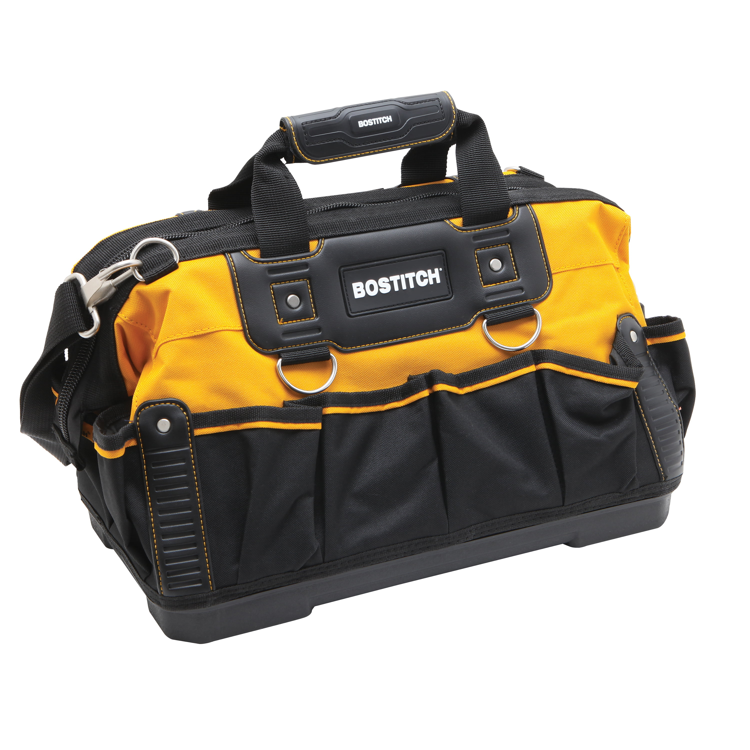 BOSTITCH BTST516155 16-Inch Open Mouth Tool Bag by Stanley Black & Decker