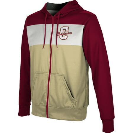 College University Sweatshirts (ProSphere Men's College of Charleston University Prime Fullzip)