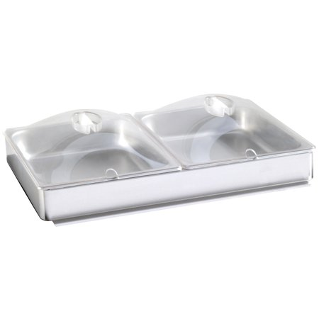 Broil King INBS-2P Half Size Inset for Buffet Server, Stainless Steel (Broil King Buffet)