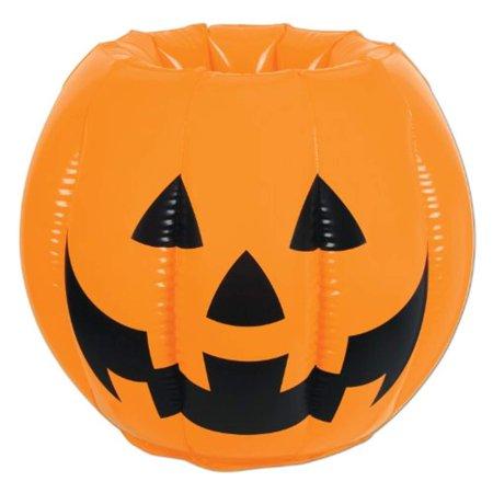 Inflatable Jack-O-Lantern Cooler (Pack of 6)