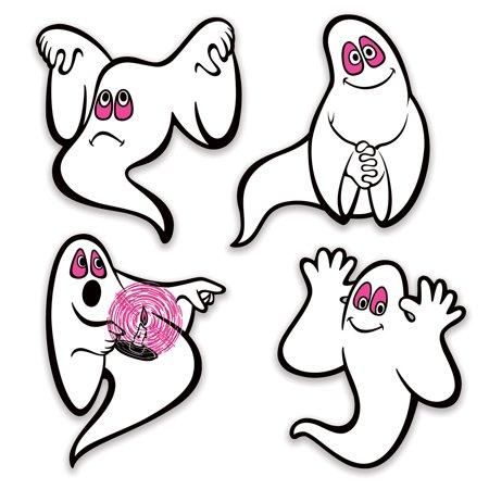Vintage Halloween Ghosts Peel 'N Place (Halloween Atcs)