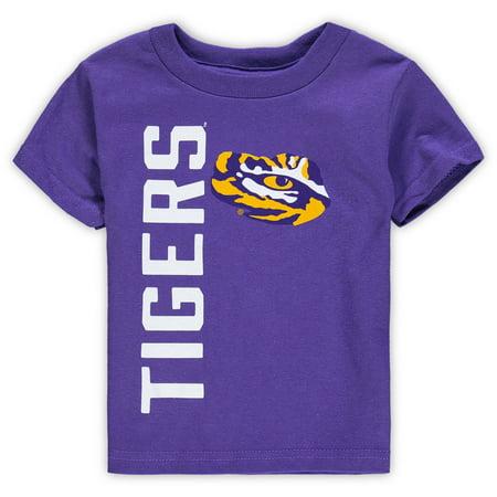 Bold Tigers - LSU Tigers Toddler Big & Bold T-Shirt - Purple