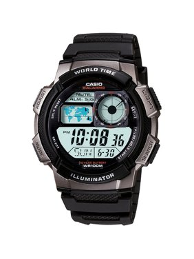 Product Image Men's Digital Sport Watch With Time Zone Display, Resin Band