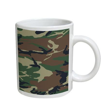 KuzmarK Coffee Cup Mug 11 Ounce -  Camouflage](Camo Cup)