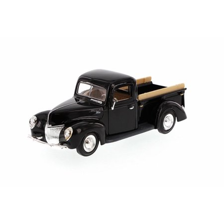 1940 Ford Pick-up Truck, Black - Showcasts 73234 - 1/24 Scale Diecast Model Toy Car (Brand New, but NOT IN BOX)
