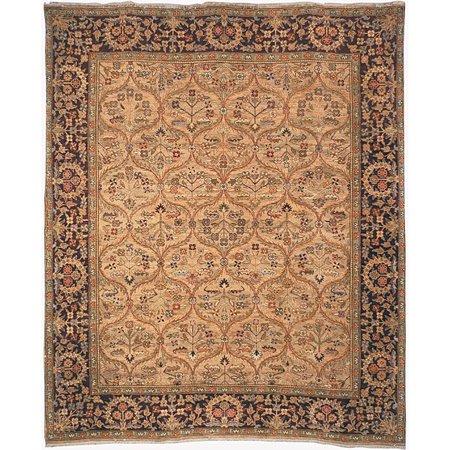 Safavieh Heirloom Hand-knotted Treasures Kerman Wool Rug (6' x 9')