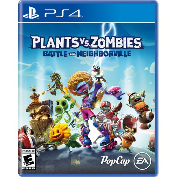 Plants Vs Zombies Battle For Neighborville Electronic Arts Playstation 4 014633370768 Walmart Com Walmart Com