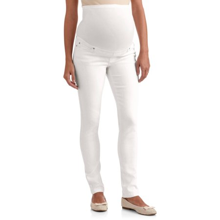 Planet Motherhood Maternity Full Panel Colored Skinny Jeans ...