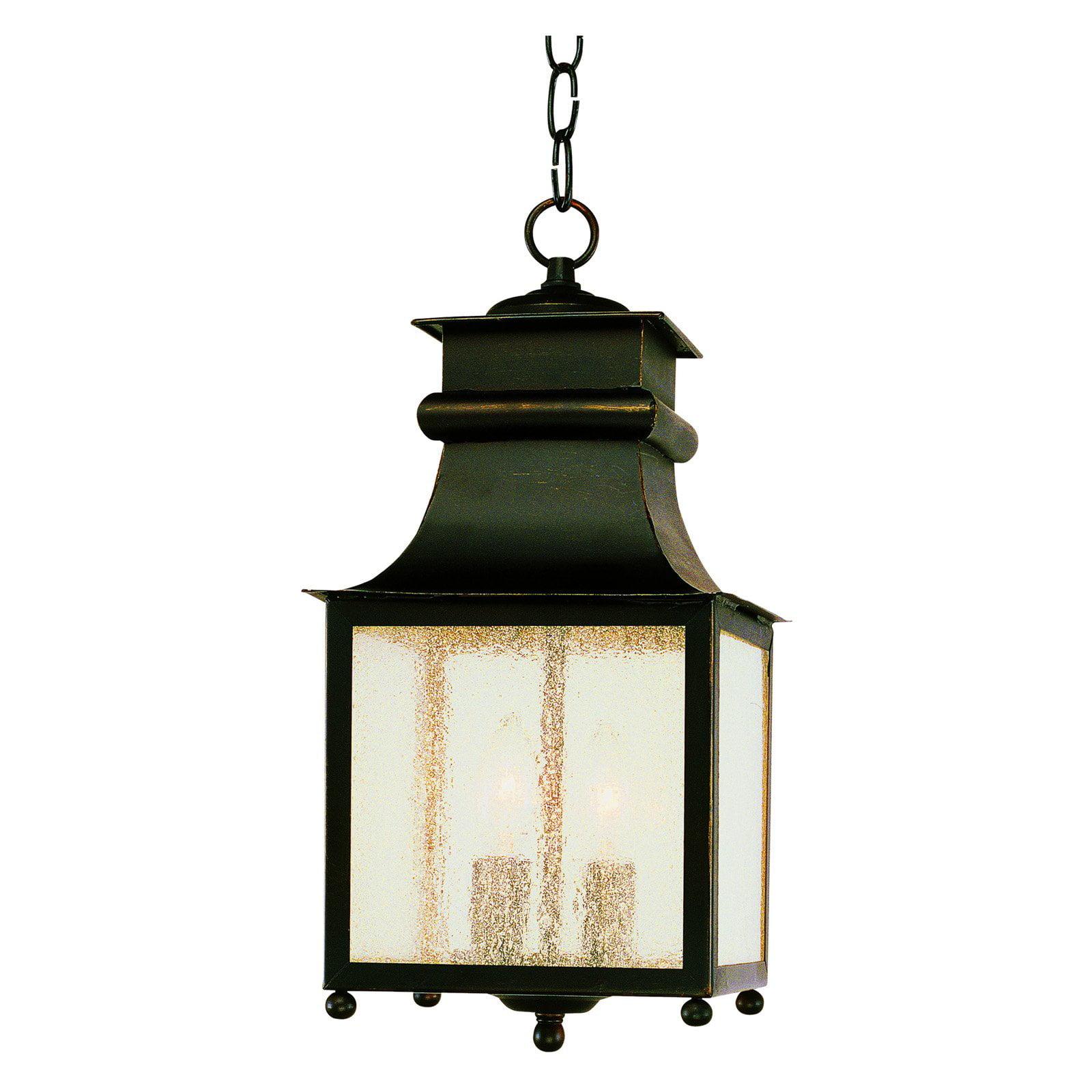 Trans Globe 45633 WB Hanging Lantern Weather Bronze 8W in. by Trans Globe Lighting