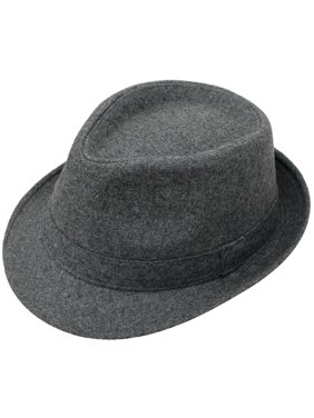 cce6f3c6331 Product Image Men s Manhattan Fedora Hat Grey Color Cap