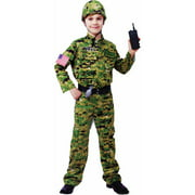 Generic Army Infantry Child Halloween Costume