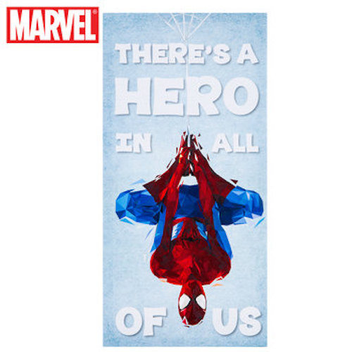 Hero In All Of Us Spider-Man Canvas Wall Art Home Decoration Theater Media Room Man Cave