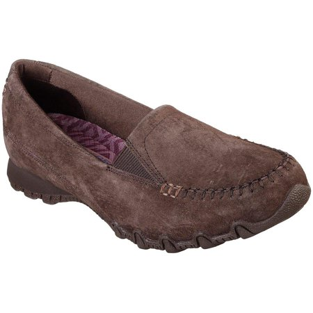Skechers Womens Bikers Wayfarer Slip On (Wayfarer Fashion)