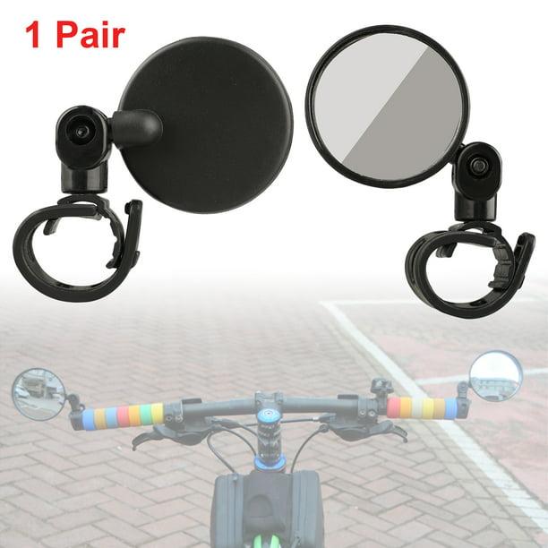 2Pcs Cycling Bike Bicycle Handlebar Flexible Safe Rear View Rearview Mirror BEST