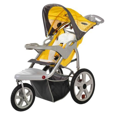 InSTEP Grand Safari Swivel Single Jogging Stroller ...