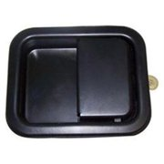 Crown Automotive Door Paddle Handle (Black Steel) - 55076223