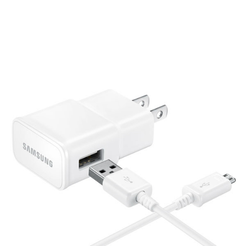 Samsung EP-TA20JWEUSTA Adaptive Fast Home Charger - White - Retail Packaging