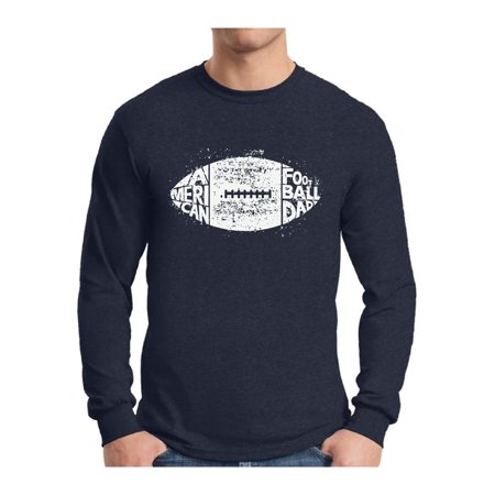 411671a0d Awkward Styles - Awkward Styles Men s American Football Dad Vintage Graphic  Long Sleeve T-shirt Tops White Sporty Father s Day Gift - Walmart.com