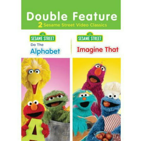 Sesame Street: Do the Alphabet / Imagine That (DVD) (Sesame Street Vampire Laugh)
