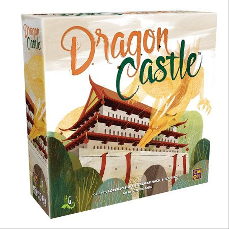 CMON Dragon Castle Board Game (Dragon Games For Kids)