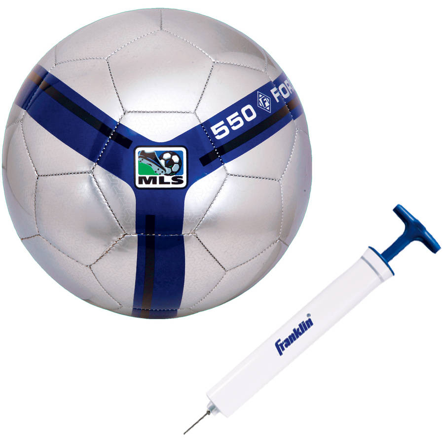 Franklin Sports MLS Size 3 Premier Soccer Ball with Pump