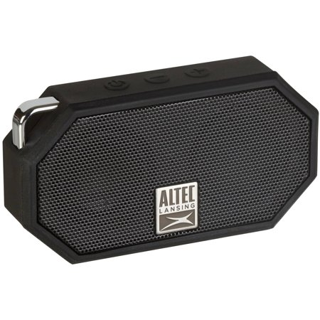 Altec Lansing iMW257 Mini H20 Bluetooth Speaker, Black