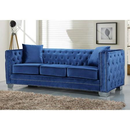 Meridian Furniture Inc Reese Sofa with Toss Pillows