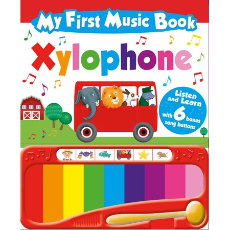 My First Music Book: Xylophone (Sound Book): With 6 of the Best-Loved Children's Songs to Learn (Board Book) - Super Simple Learning Songs Halloween