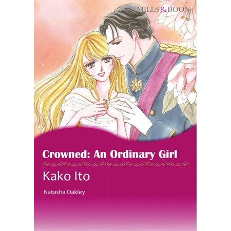 CROWNED: AN ORDINARY GIRL (Mills & Boon Comics) - eBook (Girls Of Comic Con)