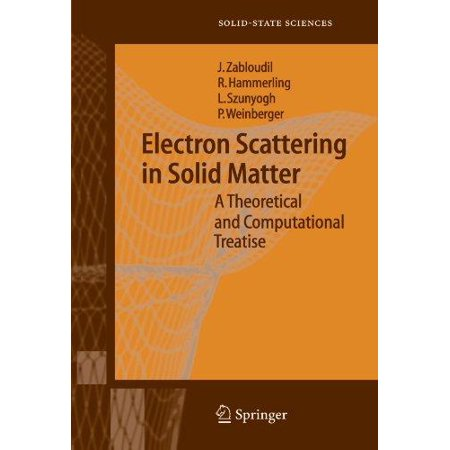 Electron Scattering in Solid Matter: A Theoretical and Computational Treatise - image 1 de 1