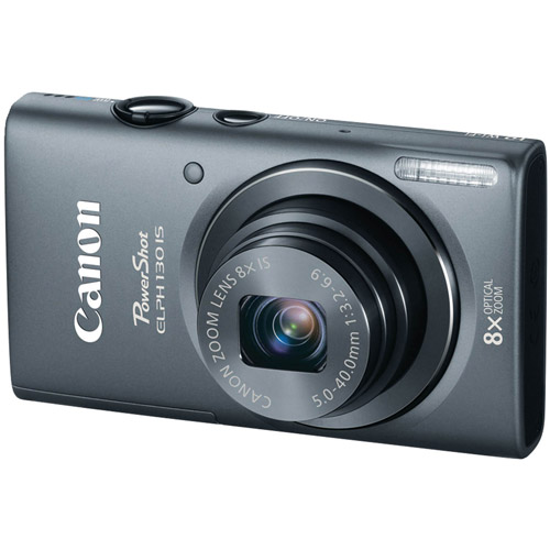 CANON 8191B001 16.0 Megapixel PowerShot(R) ELPH(R) 130 IS Digital Camera (Gray)