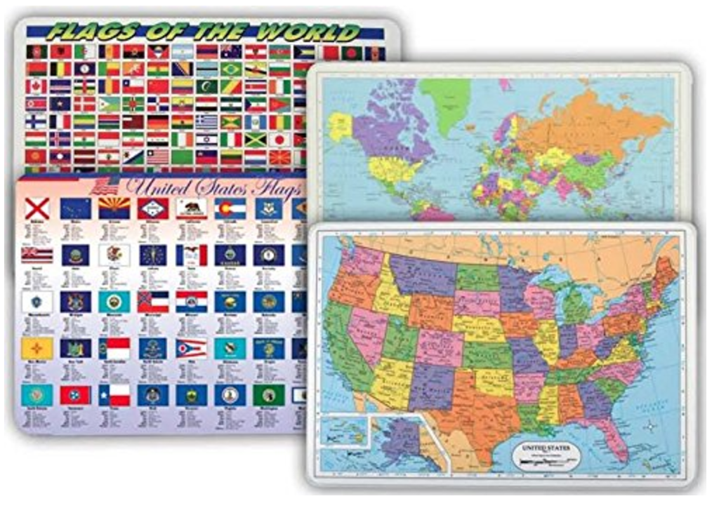 Usa Map With Flags