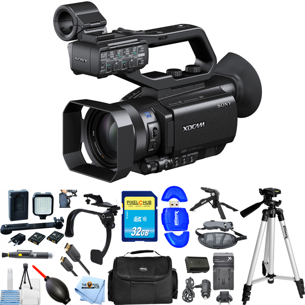 UNASSIGNED Sony PXW-X70 Professional XDCAM Compact Camcorder (PAL) PRO BUNDLE