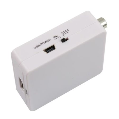 Ntsc Projection Tv - Generic Mini HD Video Converter Box HDMI to AV/CVBS L/R Video Adapter HDMI2AV Support NTSC and PAL Output