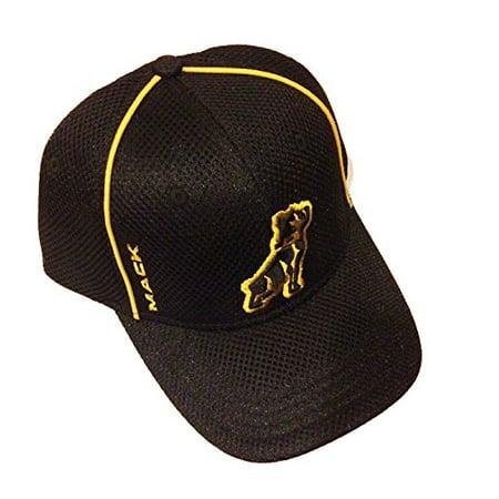 Mack Trucks Bulldog Black & Gold Mesh Snapback Cap/Hat](Mack Truck Hats)